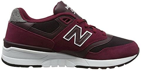 New Balance  ML597  men's Shoes (Trainers) in Red Image 6