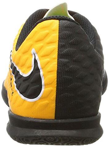 Nike Jr. HypervenomX Phade 3 Younger/Older Kids'Indoor/Court Football Shoe - Orange Image 2
