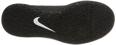 Nike Jr. HypervenomX Phade 3 Younger/Older Kids'Indoor/Court Football Shoe - Orange Image 3