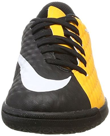 Nike Jr. HypervenomX Phade 3 Younger/Older Kids'Indoor/Court Football Shoe - Orange Image 4