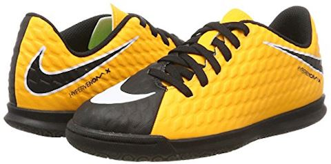 Nike Jr. HypervenomX Phade 3 Younger/Older Kids'Indoor/Court Football Shoe - Orange Image 5
