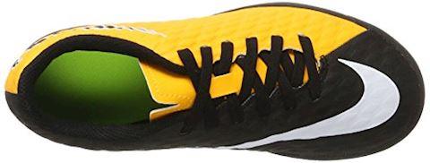 Nike Jr. HypervenomX Phade 3 Younger/Older Kids'Indoor/Court Football Shoe - Orange Image 7