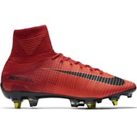 new arrival 1d9b8 c581c Nike Mercurial Superfly V Dynamic Fit SG-PRO Anti-Clog Soft-Ground Football  Boot - Red