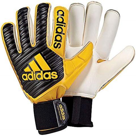 adidas Goalkeeper Gloves Classic Gun Cut - Core Black/Yellow