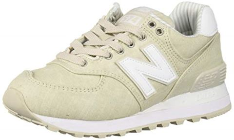 New Balance  WL574  women's Shoes (Trainers) in Beige Image