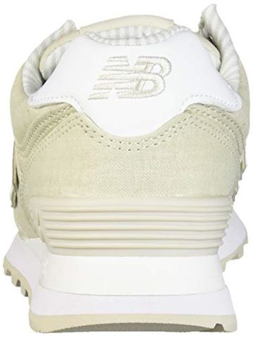 New Balance  WL574  women's Shoes (Trainers) in Beige Image 2