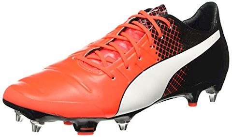 Puma evoPOWER 1.3 SG Red Blast/Puma White/Puma Black Image