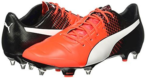 Puma evoPOWER 1.3 SG Red Blast/Puma White/Puma Black Image 5