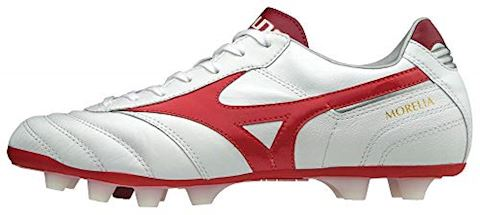 Mizuno Morelia II MD FG Red Passion Pack - White/Red Image