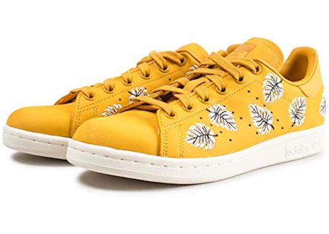 adidas  STAN SMITH W  women's Shoes (Trainers) in Yellow Image 3