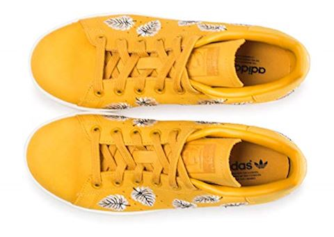 adidas  STAN SMITH W  women's Shoes (Trainers) in Yellow Image 5
