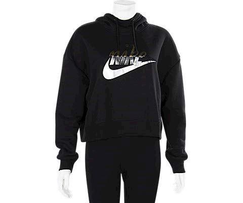 Nike Sportswear Rally Women's Pullover Hoodie - Black Image 3