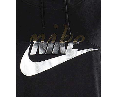 Nike Sportswear Rally Women's Pullover Hoodie - Black Image 5