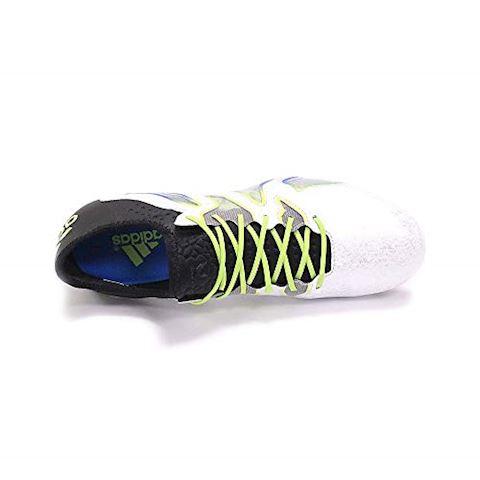 adidas X 15 SL FG AG White Core Black Shock Blue Image 3