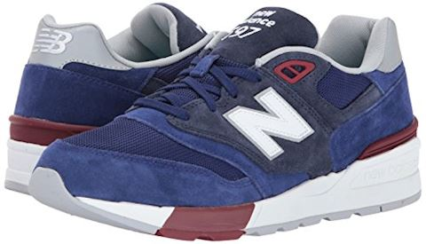 New Balance  ML597  men's Shoes (Trainers) in Blue Image 6