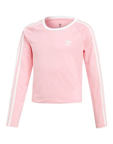 adidas 3-Stripes Cropped Tee Image