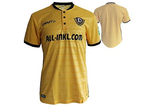 Dynamo Dresden Mens SS Home Shirt 2018/19 Image 3