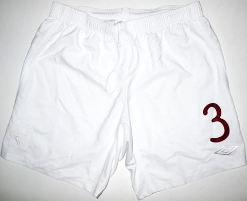 Umbro Manchester City Mens Home Shorts 2010/11 Image 2