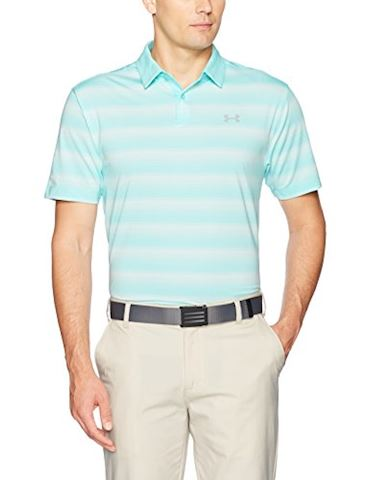 Under Armour Men's UA CoolSwitch Bermuda Stripe Polo Image
