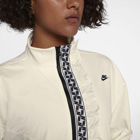 Nike Sportswear Women's Full-Zip Track Jacket - Cream Image 2