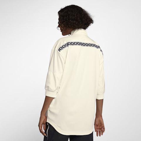 Nike Sportswear Women's Full-Zip Track Jacket - Cream Image 3
