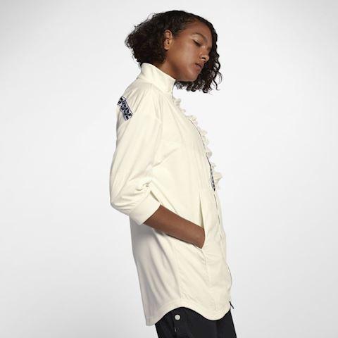 Nike Sportswear Women's Full-Zip Track Jacket - Cream Image 4