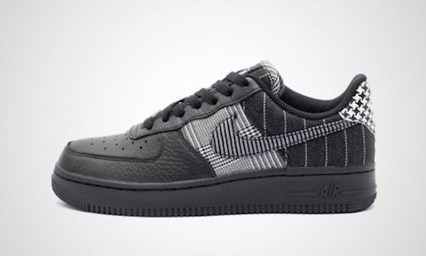 Nike Air Force 1 Low Women's Shoe - Black Image
