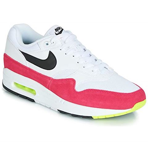 sports shoes 623a4 cf853 Nike Air Max 1 White   Black   Volt   Rush Pink Image