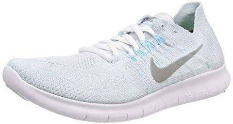Nike Free RN Flyknit 2017 Women's Running Shoe - Silver Image