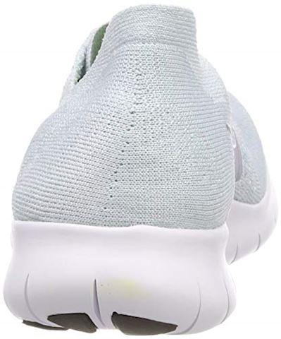 Nike Free RN Flyknit 2017 Women's Running Shoe - Silver Image 2