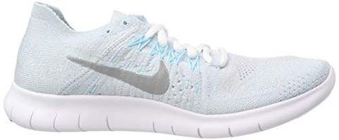 Nike Free RN Flyknit 2017 Women's Running Shoe - Silver Image 6