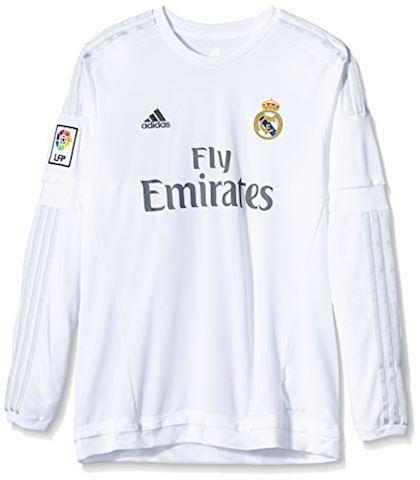 adidas Real Madrid Mens LS Home Shirt 2015/16