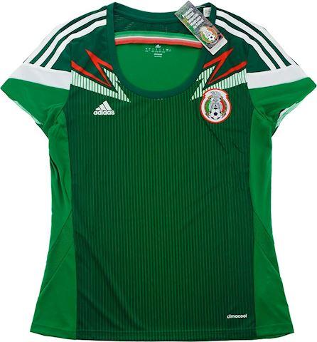 adidas Mexico Womens SS Home Shirt 2014 Image