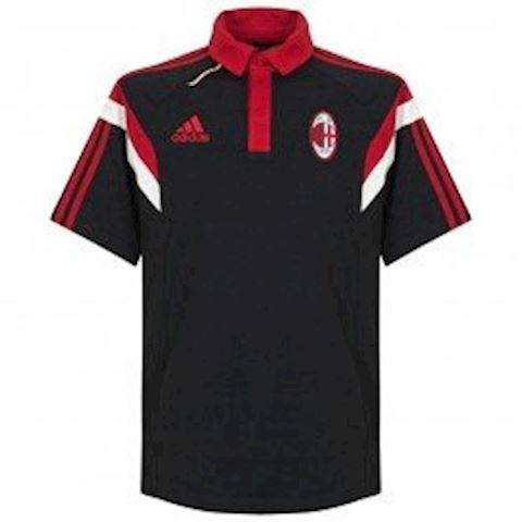 adidas AC Milan Mens 2014/15 Black Training Polo Shirt