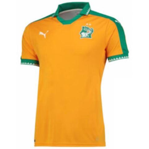 Puma Ivory Coast Mens SS Home Shirt 2016