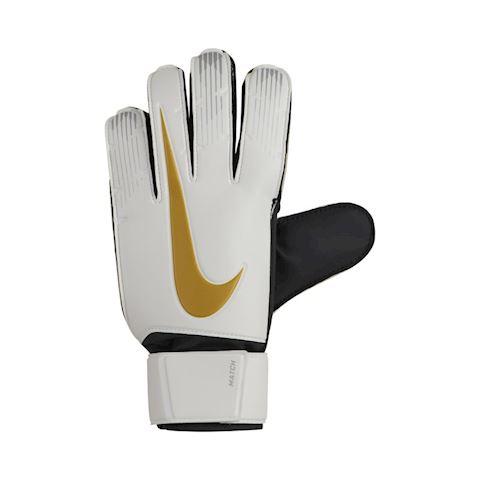 Nike Match Goalkeeper Football Gloves - White Image
