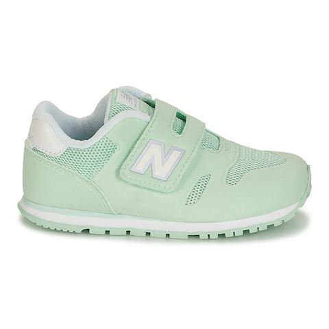 New Balance  KA373  girls's Shoes (Trainers) in Green Image 2