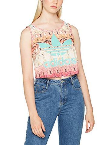 adidas Borbofresh Crop Tank - Women T-Shirts Image