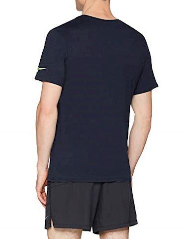 Nike Manchester City FC Crest Men's T-Shirt - Blue
