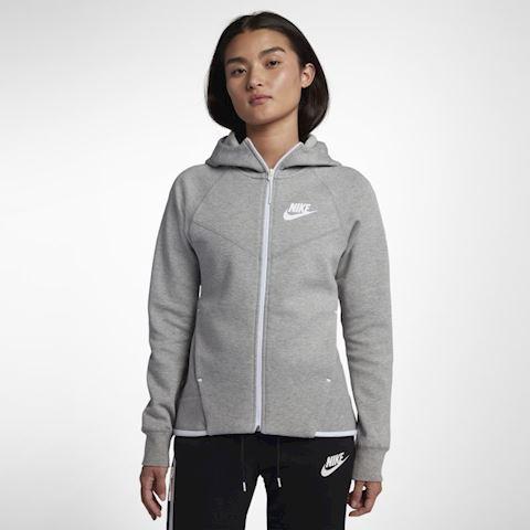 Nike Sportswear Tech Fleece Windrunner Women's Full-Zip Hoodie - Grey Image