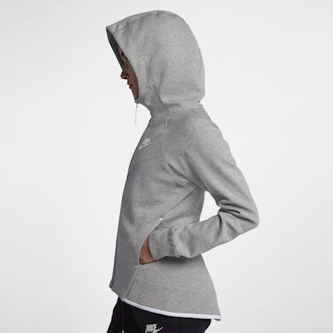 Nike Sportswear Tech Fleece Windrunner Women's Full-Zip Hoodie - Grey Image 4