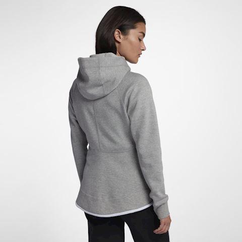 Nike Sportswear Tech Fleece Windrunner Women's Full-Zip Hoodie - Grey Image 5