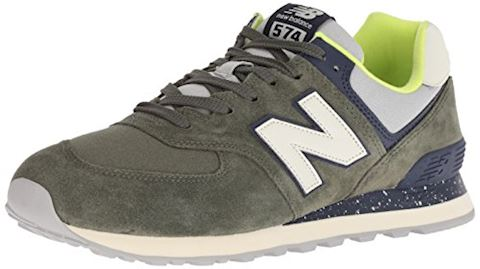New Balance  ML574  men's Shoes (Trainers) in Green Image