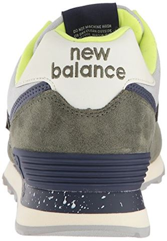 New Balance  ML574  men's Shoes (Trainers) in Green Image 2