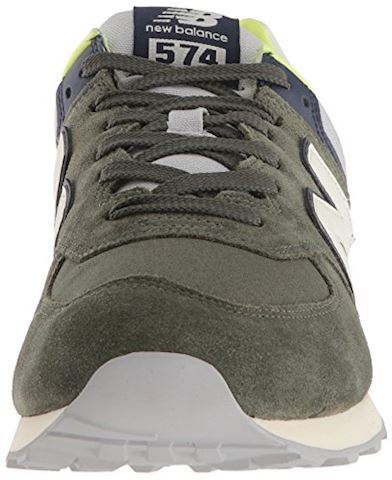 New Balance  ML574  men's Shoes (Trainers) in Green Image 4