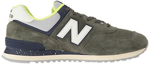 New Balance  ML574  men's Shoes (Trainers) in Green Image 7
