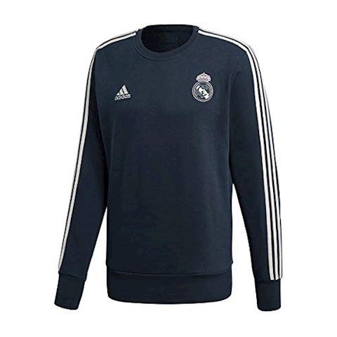 adidas Real Madrid Training Shirt - Black/White Image