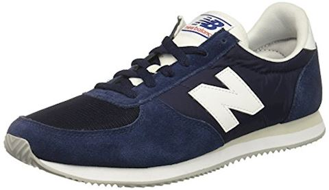 New Balance  U220  women's Shoes (Trainers) in blue Image