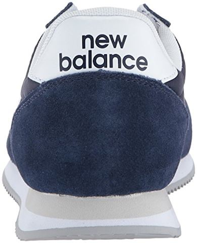 New Balance  U220  women's Shoes (Trainers) in blue Image 2