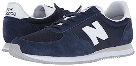New Balance  U220  women's Shoes (Trainers) in blue Image 6